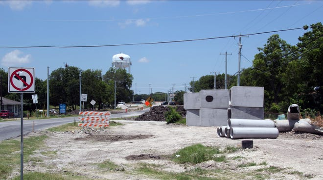 Construction on Melissa Road is expected to affect drivers through August of 2021.