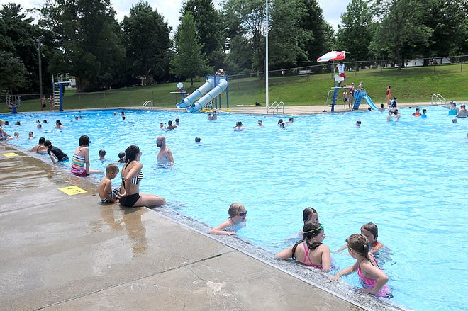 Ashland's Brookside Pool will have a pool party at 7:30 p.m. Saturday.