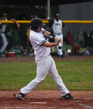 Senior catcher Max Hoffman has returned from an elbow injury to give the Nevada baseball team a much needed lift. Hoffman threw out two base runners and hit an RBI single in an 11-4 loss at Saydel Monday.
