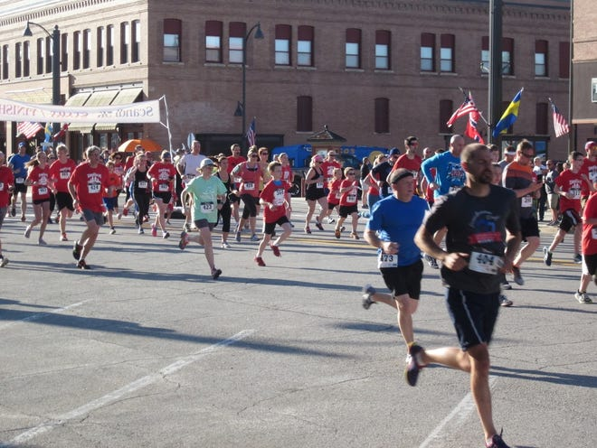 Runners participate in a past year's Scandi 5K in Story City. This year's run/walk will be held during Scandinavian Days on Saturday, July 24.
