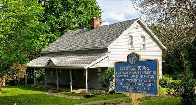 The historic Narcissa Prentiss House in Prattsburgh is open to visitors the second and fourth Saturdays in June, July and August from 10 a.m. to 2 p.m.  and by appointment.  Contact Sandra Conley at 607-566-8358 or Sandra Squires at 607-329-4737.