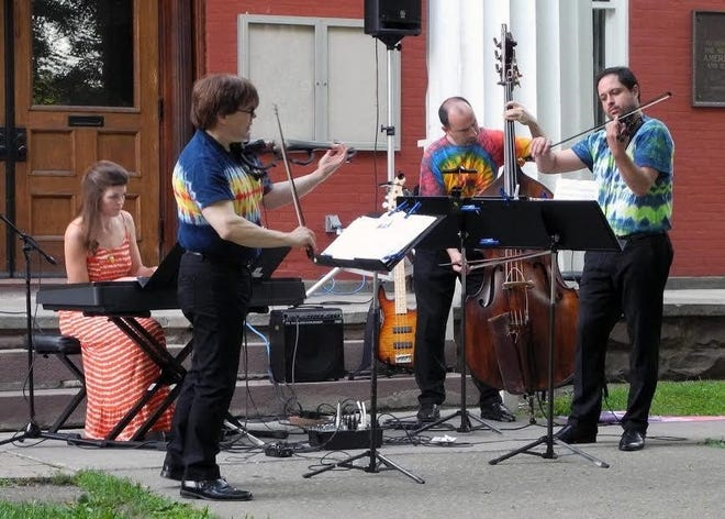 The Finger Lakes Chamber Music Festival will perform at the Wednesday night Concert on the Courthouse Lawn July 14 in Penn Yan.