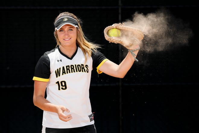 Watkins Memorial catcher Madison Jellison, the 2021 all-metro player of the year, batted .626 this season.