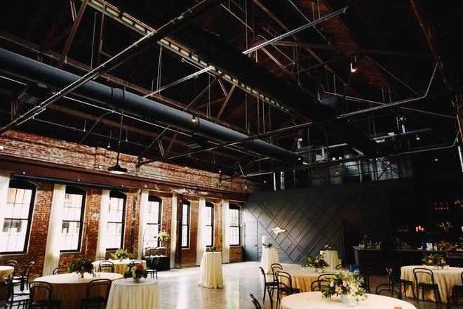 The inside of Edison777, a new event venue in Italian Village.