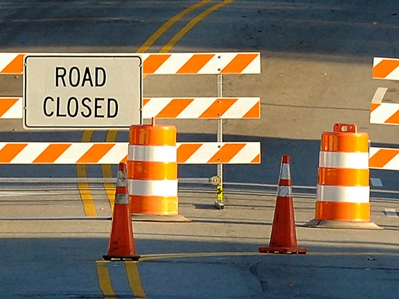 A Davidson County road is closed until at least Oct. 12 so NC Department of Transportation crews can repair a void between the barrels of the three-barrel pipe under the road.