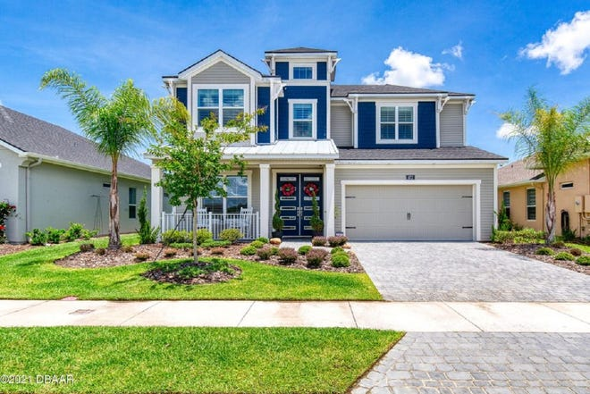 This immaculate home, which was built in 2019 in Daytona Beach's Mosaic community, has nearly 3,000 square feet.