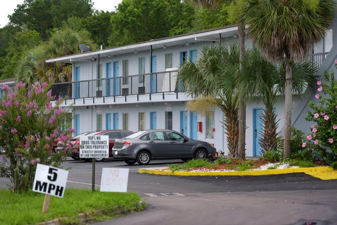 """Signs at the America's Best Inn off Baymeadows Road warn of """"100% no drug tolerance,"""" but city attorneys are asking a judge to declare the property a public nuisance, saying too much crime has happened there since last year."""