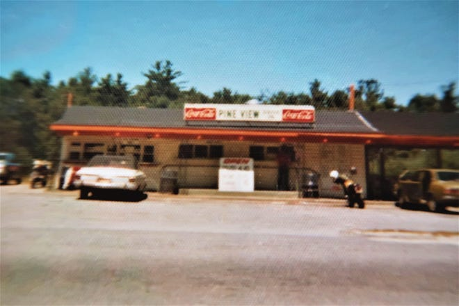 The Pine View Drive-In as seen in the 1960s in Gardner.
