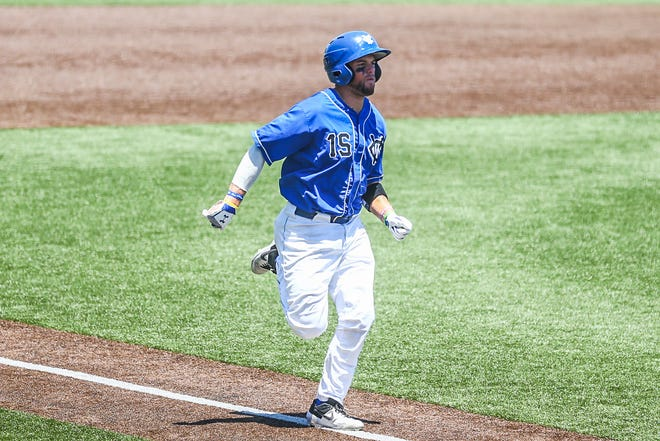 Peyton Isaacson, a 2015 Galesburg High School grad, is in his third season of pro baseball and is playing for the Windy City ThunderBolts, based in the Chicago suburb of Crestwood.