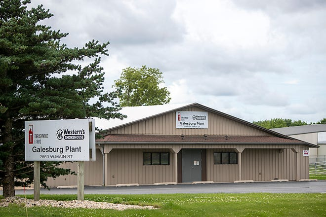 Western's Smokehouse/Thrushwood Farms Quality Meats Inc. Galesburg plant is located at 2860 W. Main St.