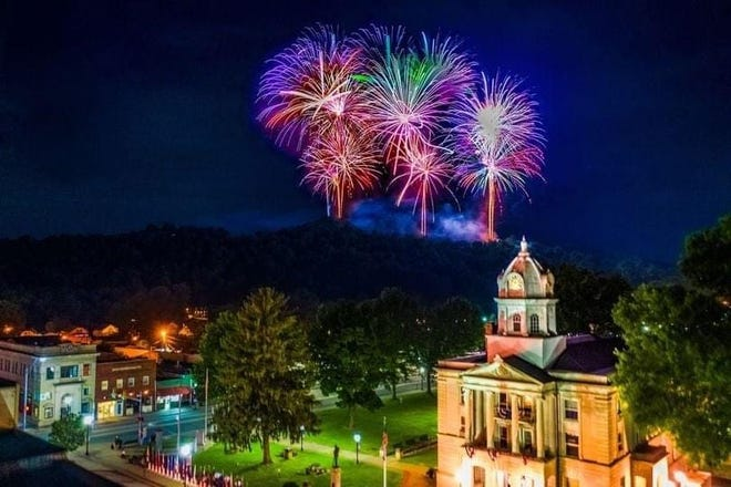 This year's fireworks are scheduled for Saturday at 10 p.m.