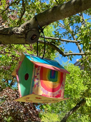 """There are even fine """"luxury"""" homes for birds to nest in the Back Bay."""