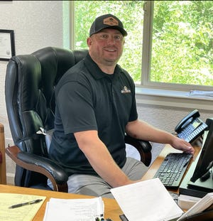 Sean Harker, a broker at Rich Toreson Insurance in Mount Shasta, said he's scrambling to help his clients secure homeowners insurance after policies are canceled.