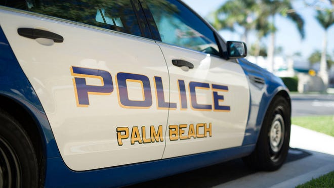A 24-year-old West Palm Beach man was charged with burglary, petit theft and loitering and prowling after stealing items from a parked car outside a Palm Beach home, police said.