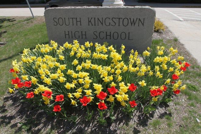South Kingstown High School in the heart of Wakefield.