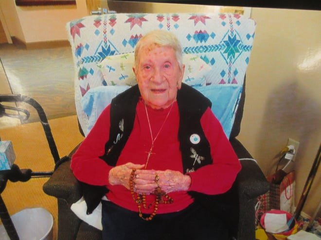 Mary Denny of Randolph, who now lives at The Homestead assisted living center in Hartville, celebrated her 111th birthday on June 10.
