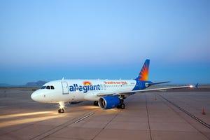 Allegiant Air will begin nonstop flights to Orange County from Eugene in October.