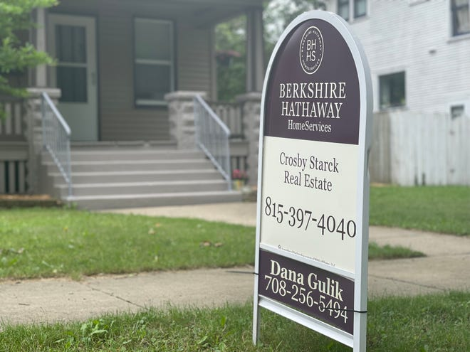 The Rockford housing market is experiencing all-time highs in 2021. This home at 219 North Chicago Avenue in Rockford is for sale for $130,000.