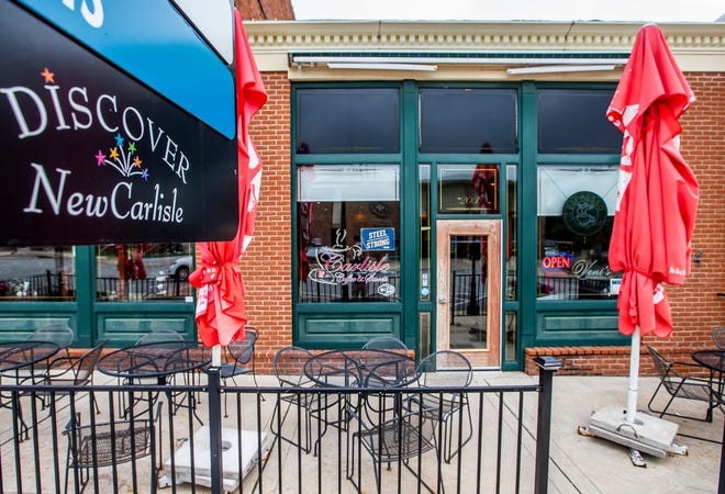 Located next to Moser's Austrian Cafe, Carlisle Coffee and Sweets celebrates a decade of business in New Carlisle.