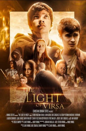 """""""The Light of Virsa"""" a full-length,adventure/fantasy filmproduced by the Vining Sisters, will be screened at 7 p.m. Thursday, July 7, at theClyde H. Wells Fine Arts Center in Stephenville."""