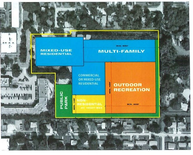 The redevelopment of the Bath and Racquet Club could see a mixed-use project with a large multifamily component be developed next to the Trader Joe's on Tamiami Trail.