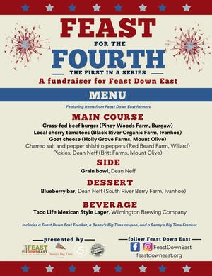 Feast for the Fourth fundraiser will benefit Feast Down East.
