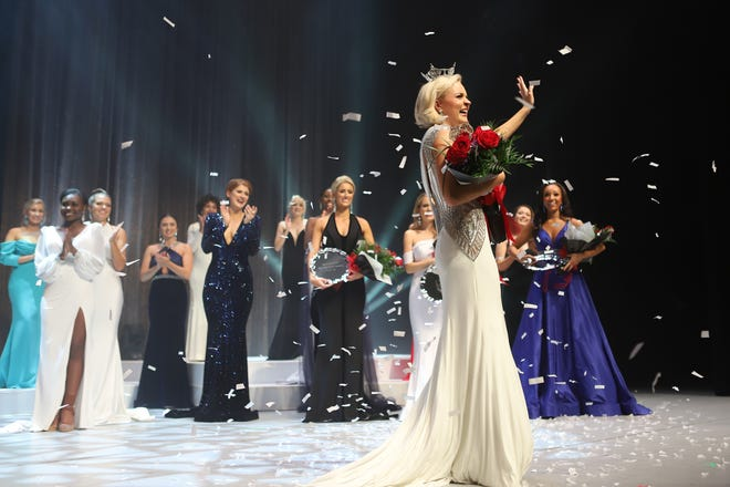 Carli Batson of Wilmington won the Miss North Carolina pageant on June 27. She'll go on to compete in the Miss America pageant in December.