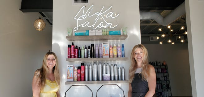 Nicole Mann and her sister, Kayla Schwan, have opened up NiKa Salon in Aberdeen. The salon is located at 414 S. Second St.