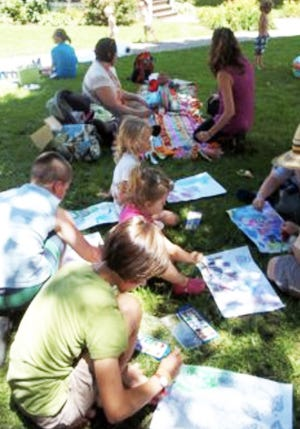 Art in the Park is sponsored by the Confluence Creative Arts Center as part of its mission to promote family-friendly community activities.