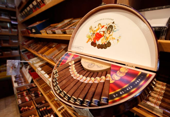 Cigars in North Carolina have a 12.8% excise tax on their wholesale price. The NC Senate wants keep the tax rate at 12.8% but cap it at no more than 30 cents per cigar. It also would start levying the excise tax on cigars that North Carolinians purchase from out-of-state online retailers.