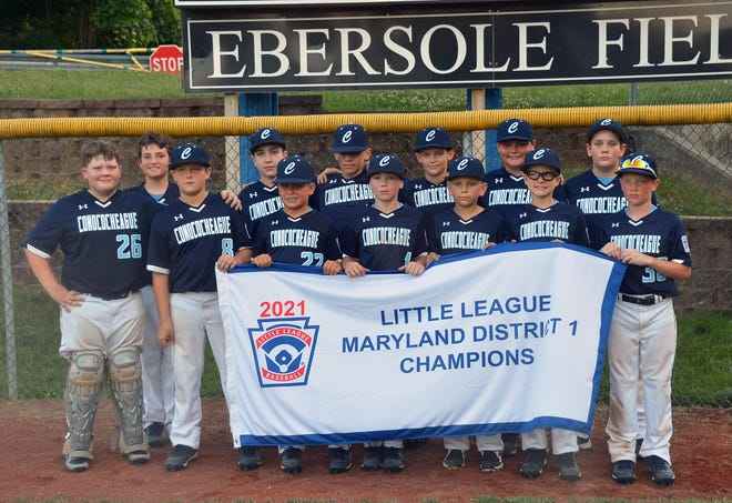 District 1 champion Conococheague has advanced to the winners' bracket final at the Maryland Little League 10-12 state tournament.