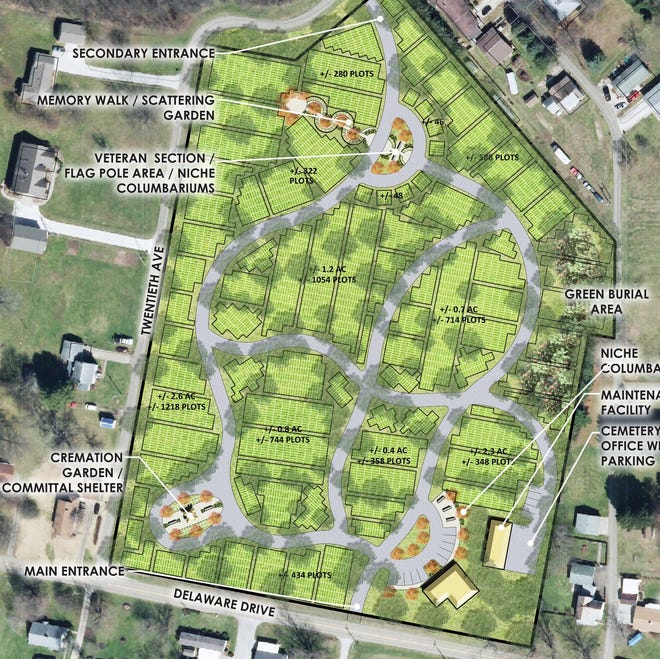 A ribbon cutting ceremony will be held at 11 a.m. July 24 for Schoenbrunn Meadows Cemetery at 2037 Delaware Drive, New Philadelphia.