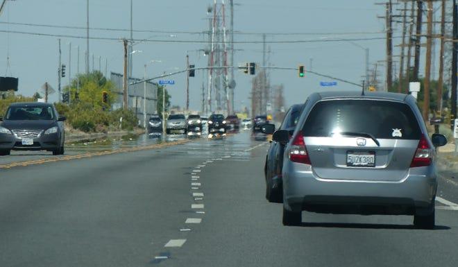 Caltrans roadwork