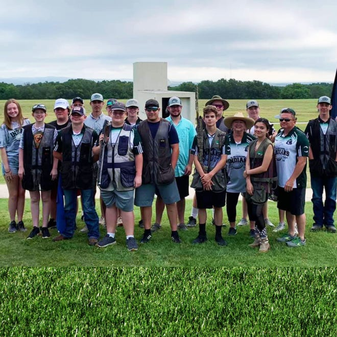 The Waxahachie Indians Shotgun Team competed at the Texas State Championship recently and came away with several individual and team awards.
