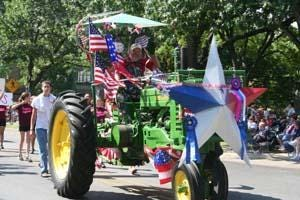 A scene from a previous Crape Myrtle Parade in Waxahachie. This year's parade will take place beginning at 10 a.m. on Saturday as part of the city's Fourth of July celebration.