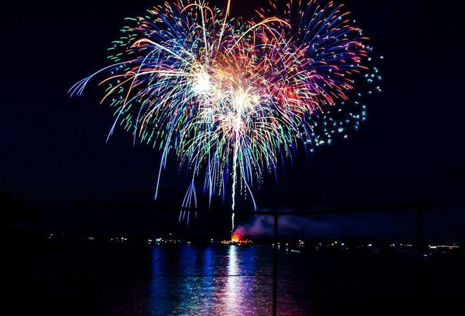 Happy Independence Day! Catch the fireworks over Lewis Bay on July 4 at dusk. Main viewing locations include Aselton Park, Bismore Park and Veteran's Park Beach, all on Ocean Street, Hyannis. Kalmus Beach will be open for handicap parking only (permit must be shown at the gate). Rain date: Sept. 4.