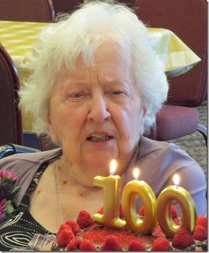 Eileen Gruneisen turned 100 years old on June 5.