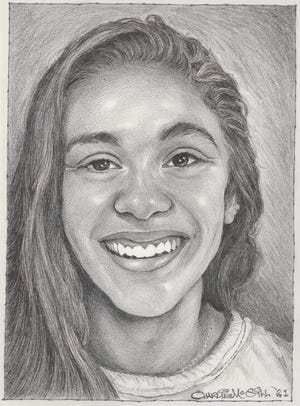 Amanda Sallemi of Emerson High School is one of the 2021 Charlie McGill scholarship winners.