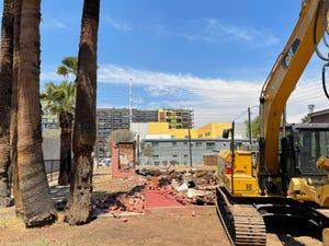 Home demolished in Phoenix
