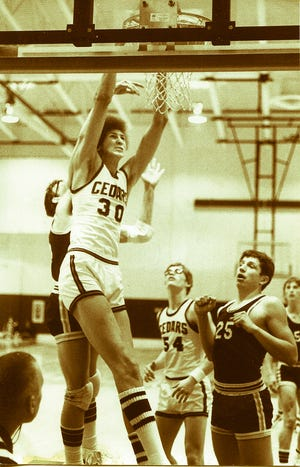 Lebanon's Sam Bowie led the Cedars to the state finals in 1978 and was later a first round pick by the Portland Trailblazers in the 1984 NBA draft.