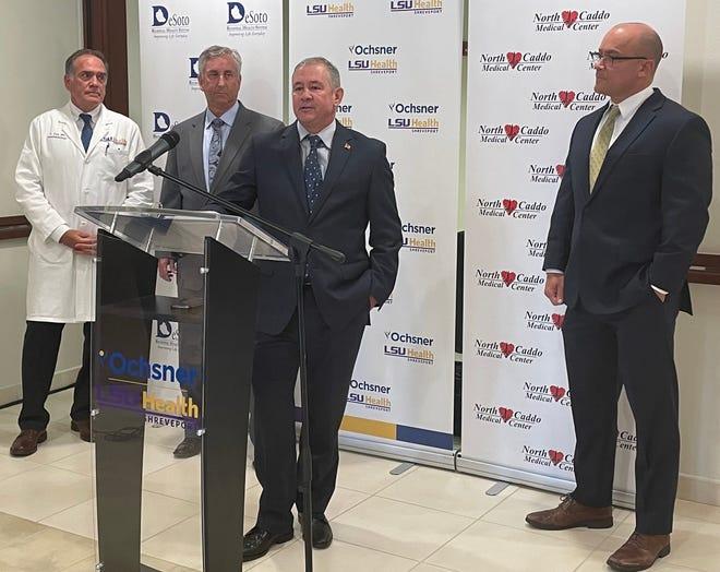 Ochsner LSU Health press conference for new affiliations
