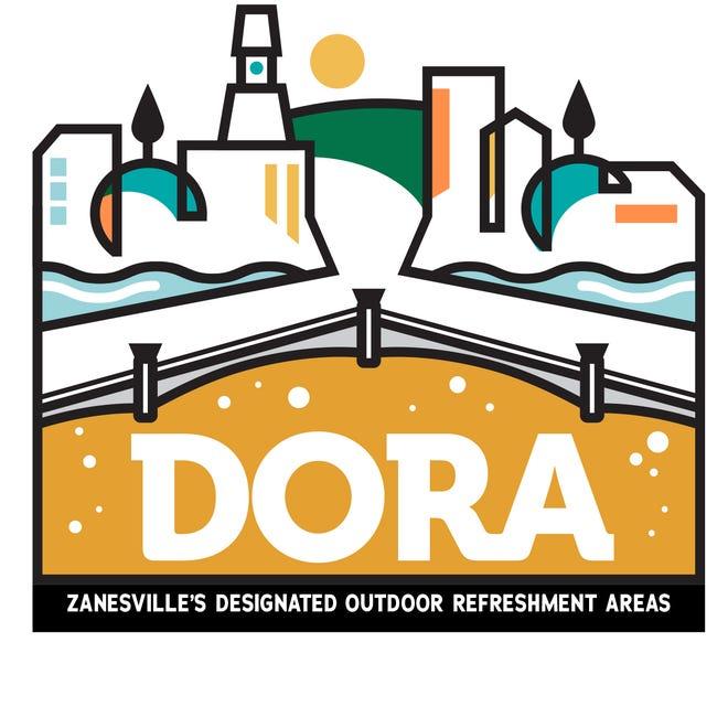 The logo for Zanesville's proposed Designated Outdoor Refreshment Area.