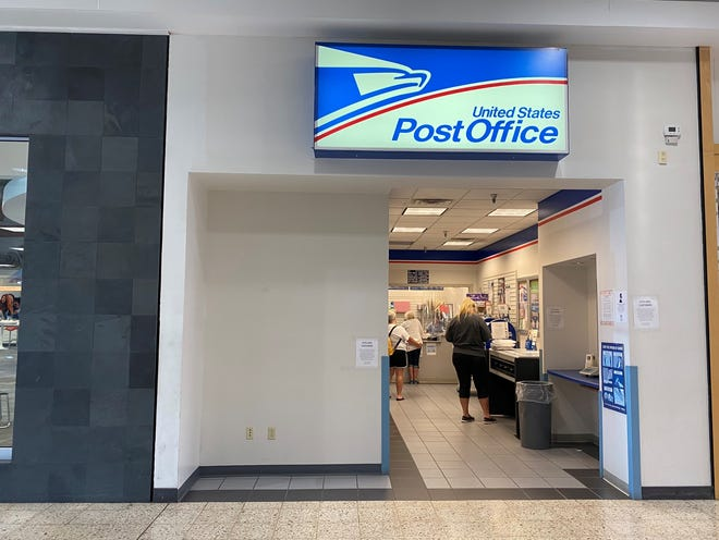 The Zanesville post office branch located inside the Colony Square Mall is set to close July 16.