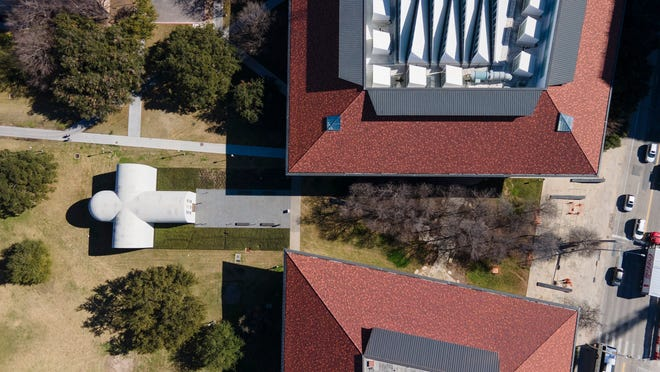 The Blanton Museum of Art on the University of Texas campus plans to build a new outdoor experience called the Butler Sound Gallery.