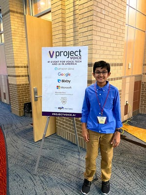 Aariv Modi attended his first Project Voice conference in Chattanooga, Tenn., in January 2020.