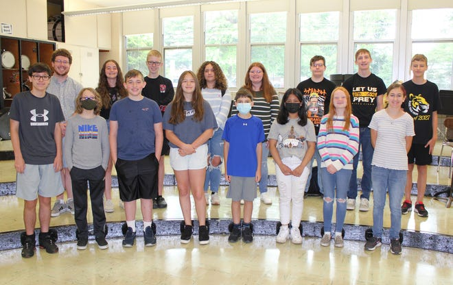 Members of the Middle School Summer Orchestra.