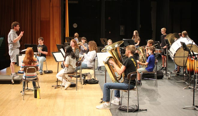 The Middle School Summer Orchestra performed an exceptional concert at the Cuyahoga Falls High School on Friday, June 25.