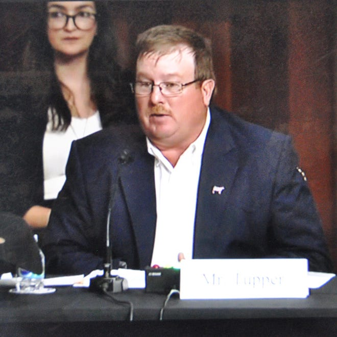 Justin Tupper, a livestock auction operator from South Dakota, was among several panelists who advocated for mandatory price reporting reforms during a Senate Ag Committee hearing on June 23. All agreed that more comprehensive and detailed reporting would improve transparency in the beef market. The hearing was broadcast live over the internet and was rebroadcast on C-SPAN.