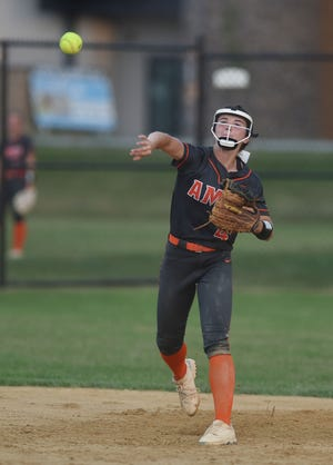 Ames shortstop Ellie Lynch was named to the all-CIML Iowa first team in softball for the 2021 season by the conference coaches.