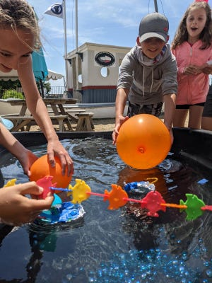 Stop by the Cape Cod Maritime Museum's back patio for hands-on family fun July 6-9, between 10 a.m. and 1 p.m.